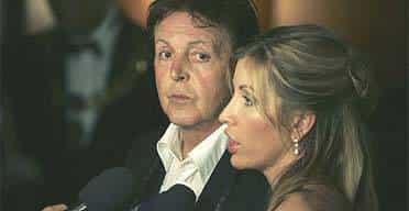 Sir Paul & Heather