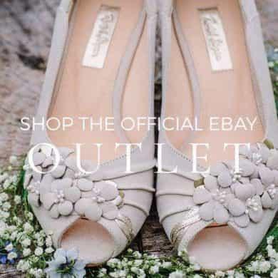 Beautiful designer bridal shoes