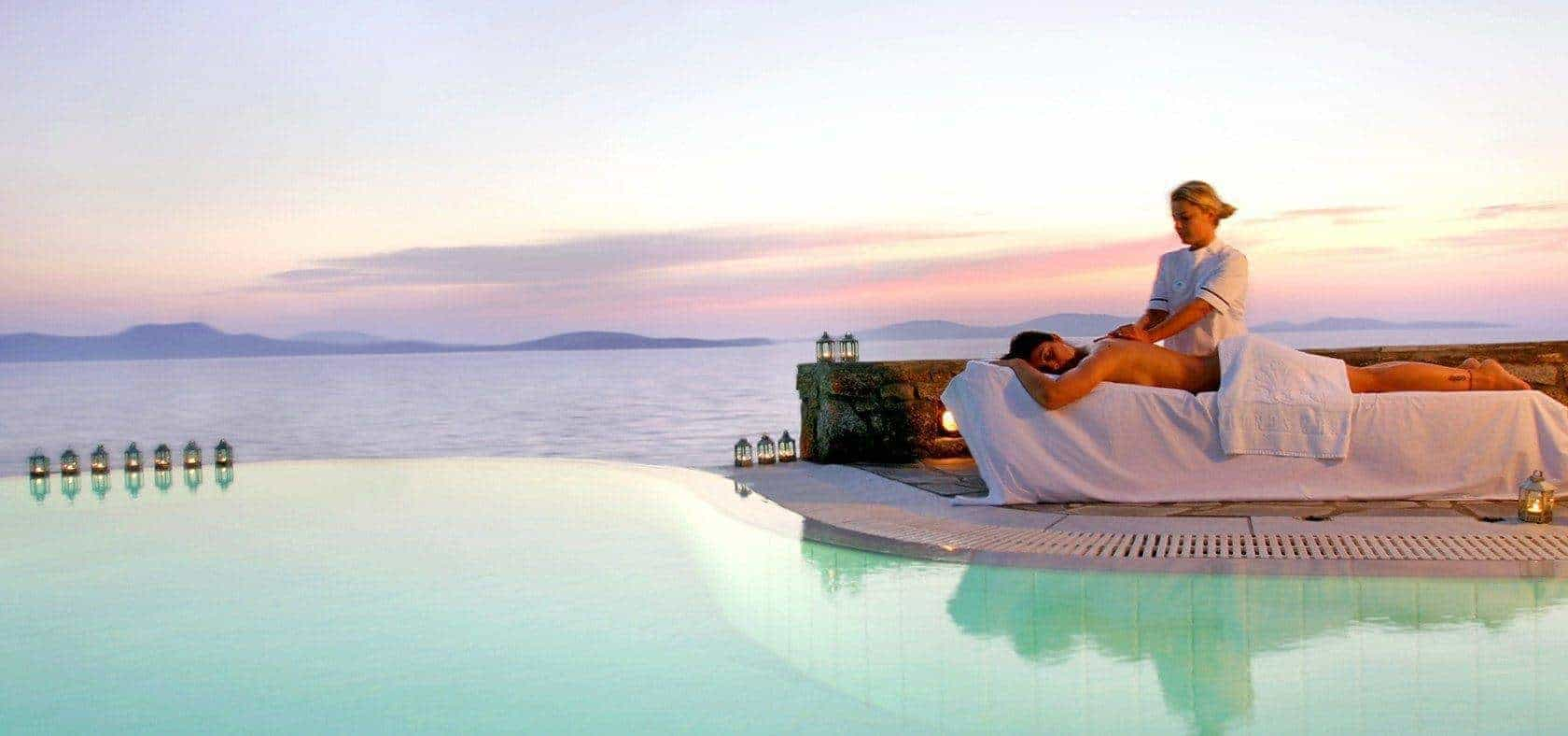 The perfect place to be a Greek Goddess on your honeymoon