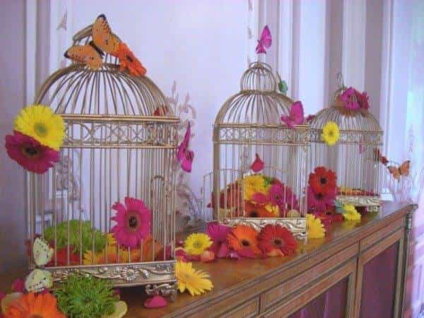 Simply Flowers bird cages
