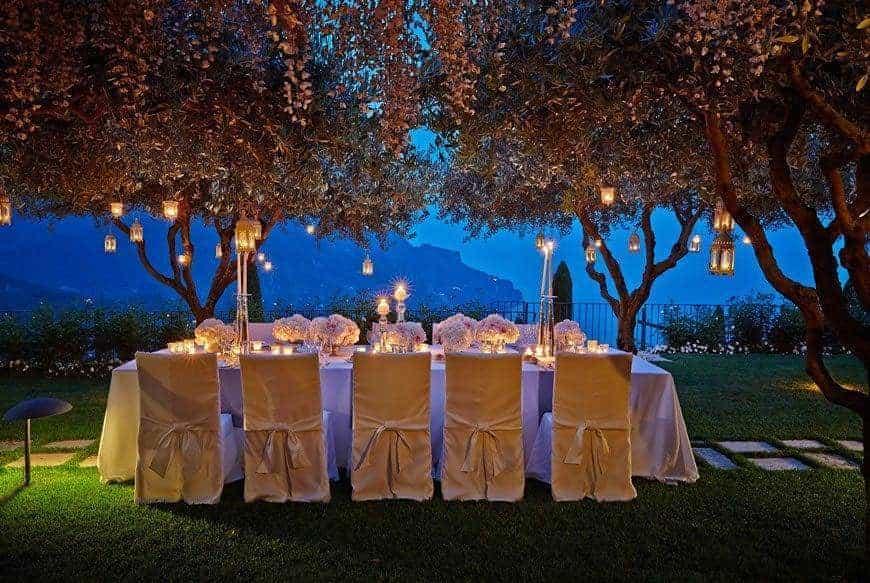 wedding reception in Ravello