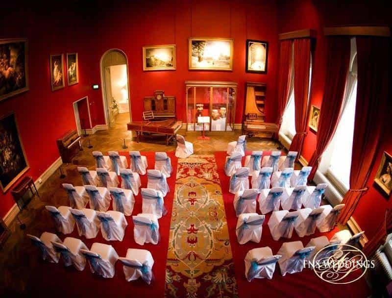 Alternative wedding venue in a beautiful museum