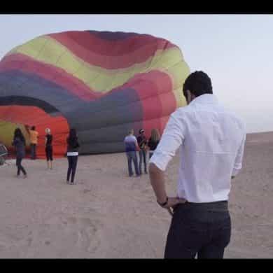 Romance in Dubai's Desert