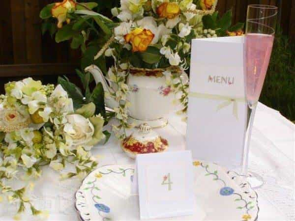 Vintage Crockery Hire for Weddings