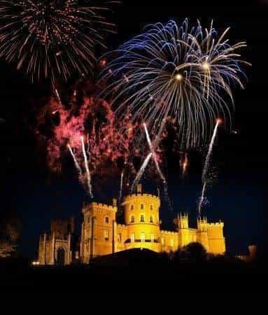 Fireworks a Belvoir Castle