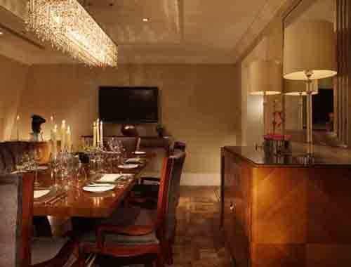 The Landmark London - Presidential Suite dinning room
