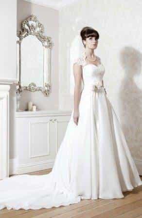 Hollywood inspired vintage wedding dresses 1