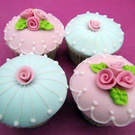 Rose The Rose Garden Collection Cupcakes