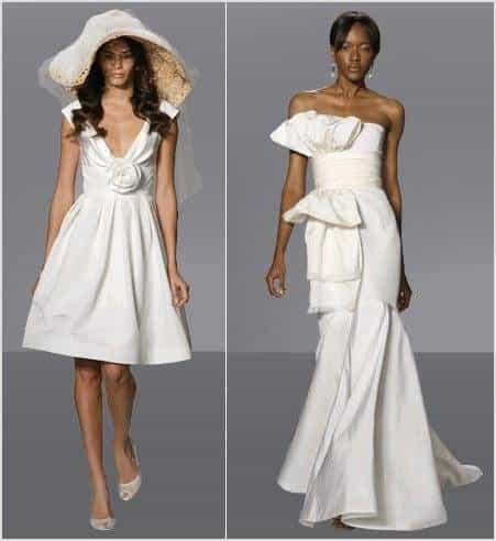 oscar de la renta browns bridal
