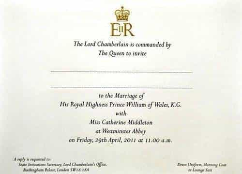 Royal Wedding Date Announced – April 29th 2011