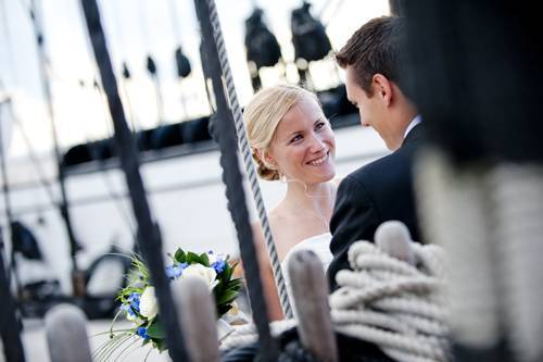 Wedding on a Private boat
