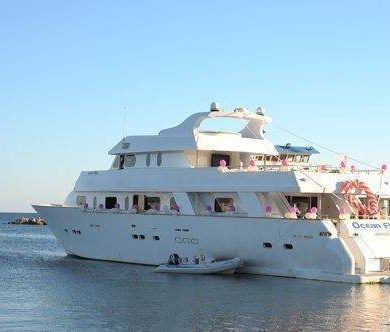 Exclusive Yacht Hire In Cyprus Perfect For Your Wedding Day