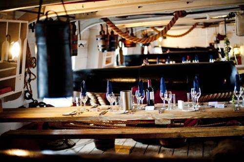 HMS Warrior A sought after venue on the South Coast