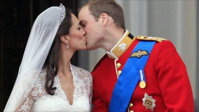 The Prince William and Kate Middleton First Kiss