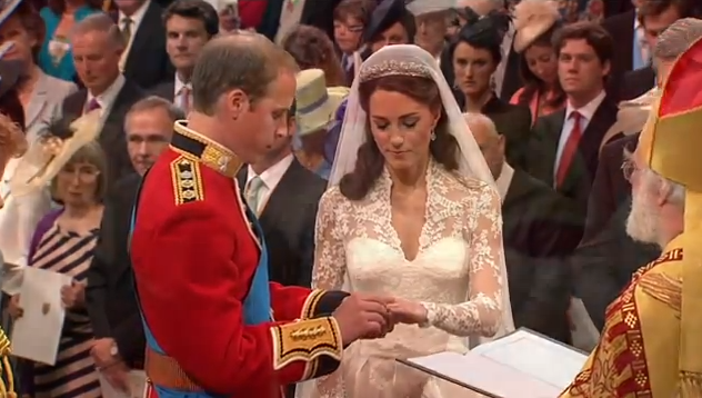 Prince William and Kate Exchange Wedding Rings