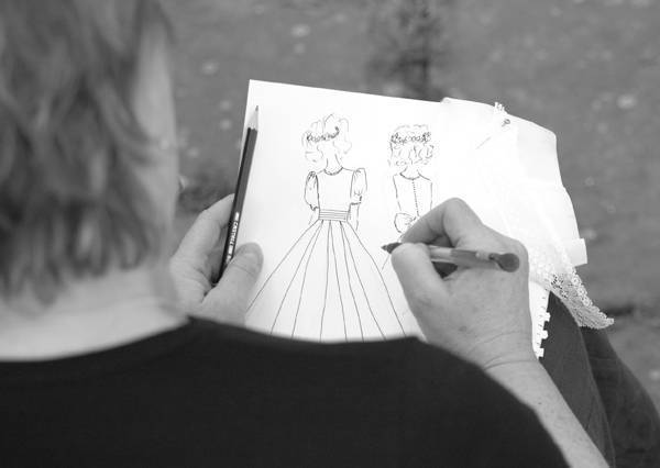Royal Bridemaid dresses