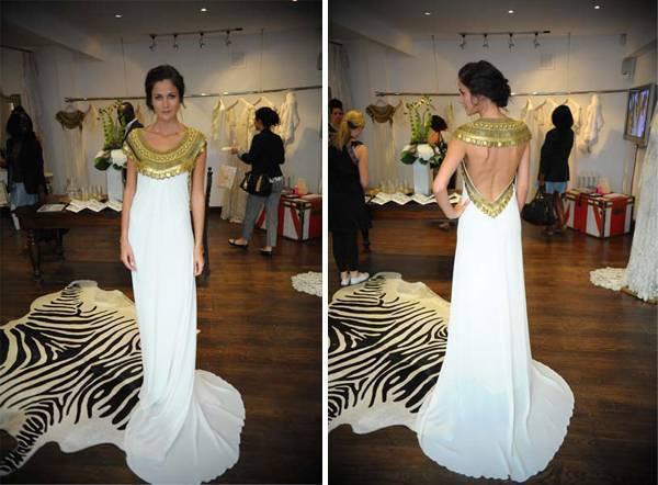 Temperley Long Goddess Dress