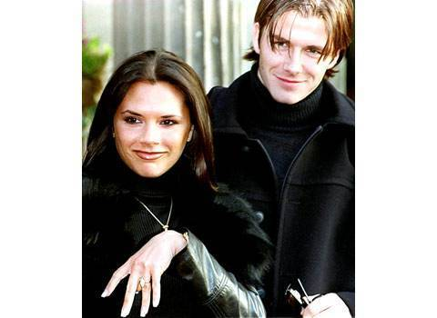 victoria and david beckham engagement ring - Victoria Beckham Wedding Ring