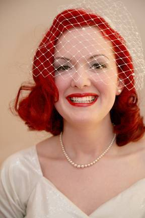 Vintage wedding hats