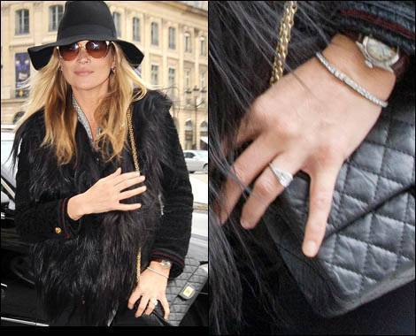 Kate Moss 1920's Vintage Engagement Ring