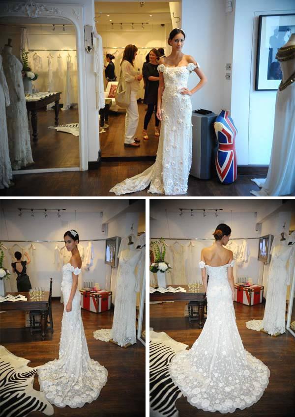 Temperley Long Dahlia Dress
