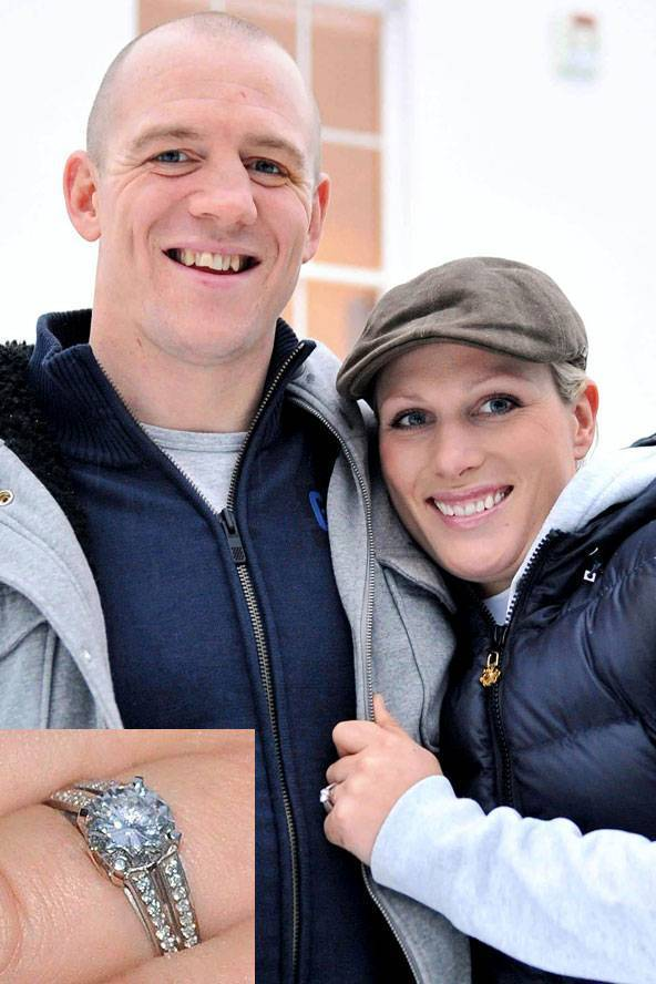 Zara Phillips Engagement Ring