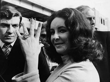 Elizabeth Taylor's Diamond Ring