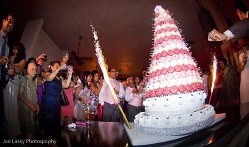 White Wedding - Bouquet Throwing & Cake Cutting