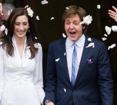 Sir Paul McCartney Marries American Heiress, Nancy Shevell
