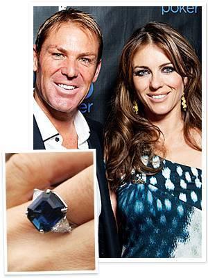 liz hurley engagement ring
