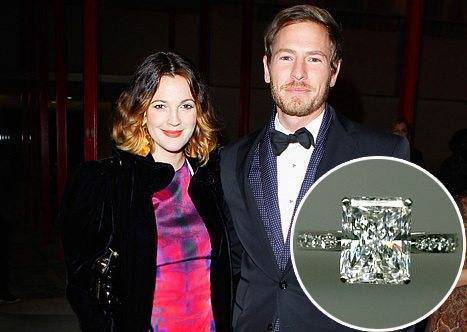 Drew Barrymore Engagement