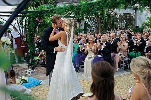 The Wedding Of Holly Branson And Fred Andrews