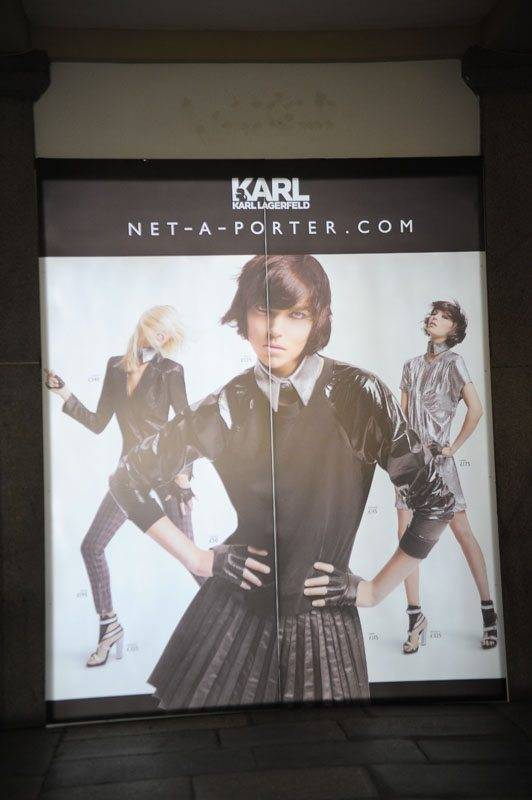 Karl Lagerfeld New Collection Hits Paris - London - New York and Sydney 1