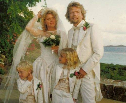 Sir Richard Bransons Wedding Day On Necker Island