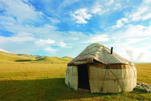 Yurt in the Wilderness