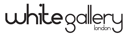 the white gallery logo