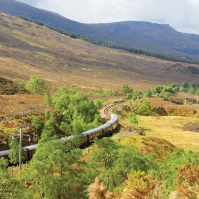 Journey Through Scenic Scotland On The Royal Scotsman