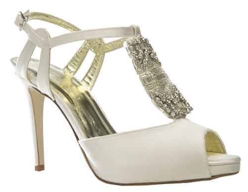 Designer Vintage wedding shoes