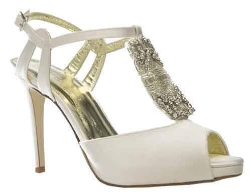Designer Vintage wedding shoes