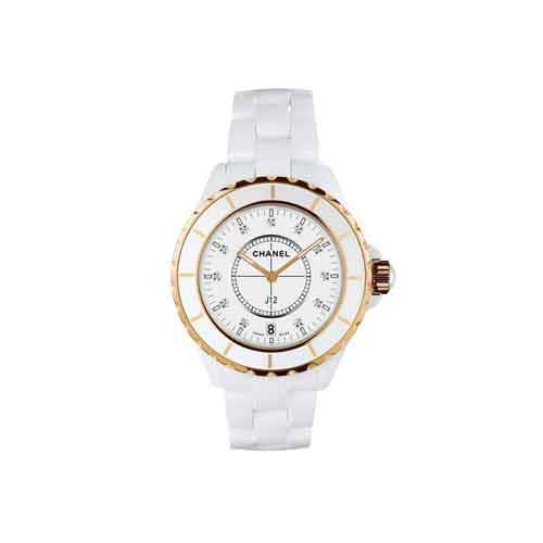 Chanel J12 White Ceramic Ladies Watch