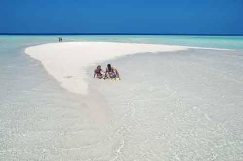 Olhuveli Sandbank Maldives