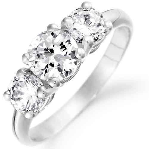 Simulated Diamond Rings