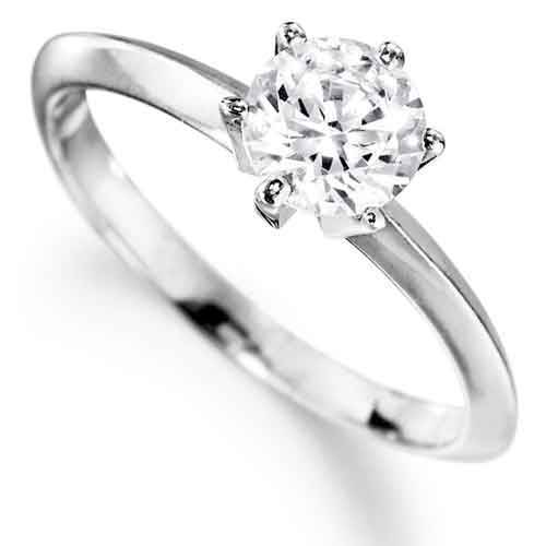 1 ct. Tiffany Style Solitaire Ring