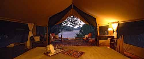 Luxury Tanzanian Tents
