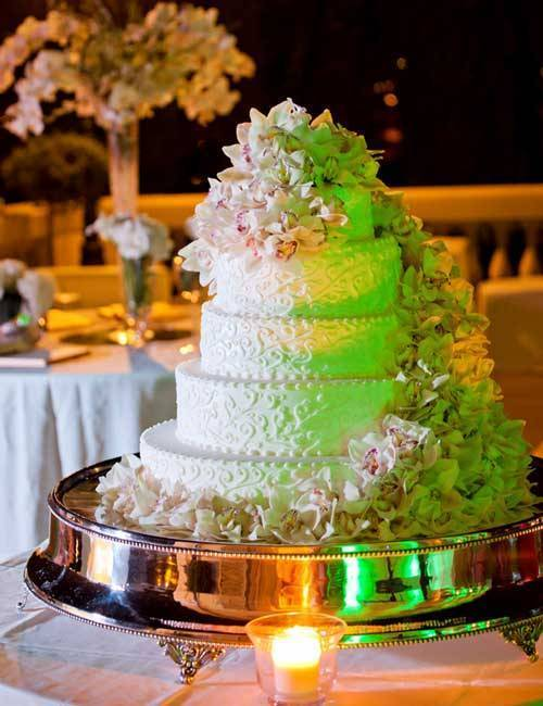 Designer Italian Wedding Cake
