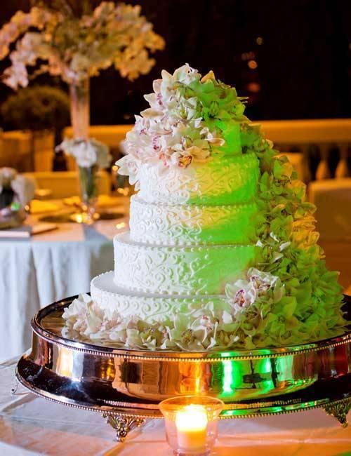 Designer Italian Wedding Cake