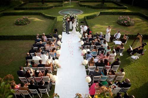 Outdoor Wedding Ceremony Italy