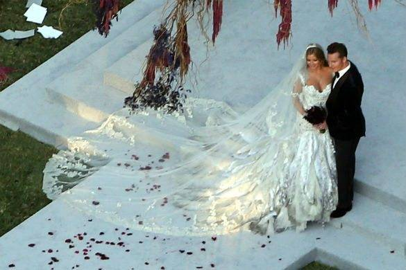 Candy valance wedding