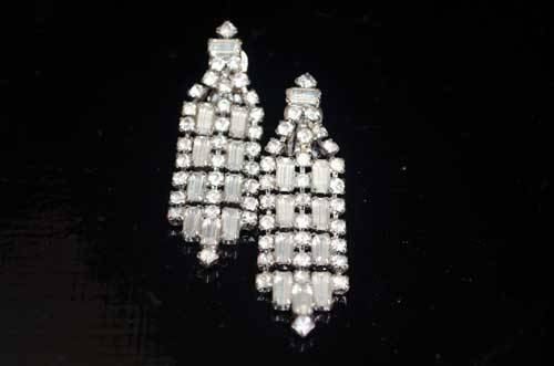 Deco Chandelier Earings