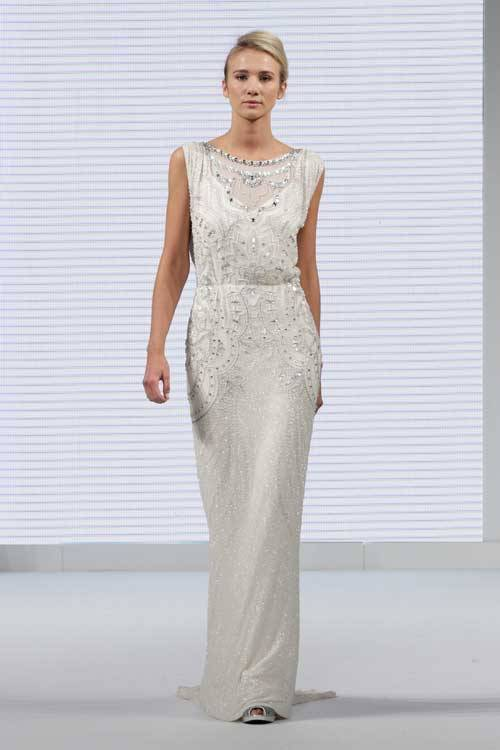 Jenny Packham Dress At The National Wedding Show
